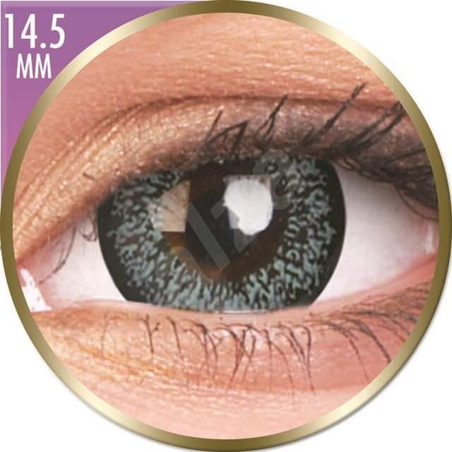 ColourVUE dioptrické Phantasee Big Eyes (2 šošovky), farba: Pearl Grey, dioptrie: -4.00 - Kontaktné šošovky