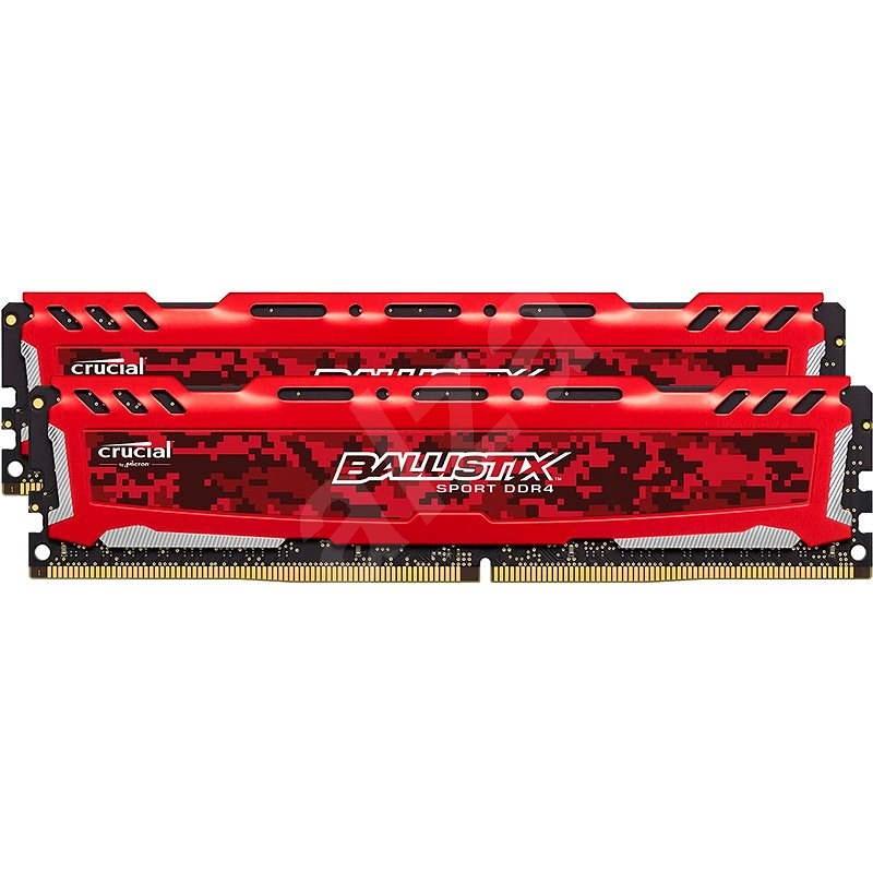 Crucial 32 GB DDR4 2400 MHz CL16 Ballistix Sport LT Dual Ranked red - Operačná pamäť