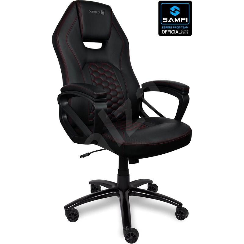 CONNECT IT RazorPro PU, čierna - Herná stolička