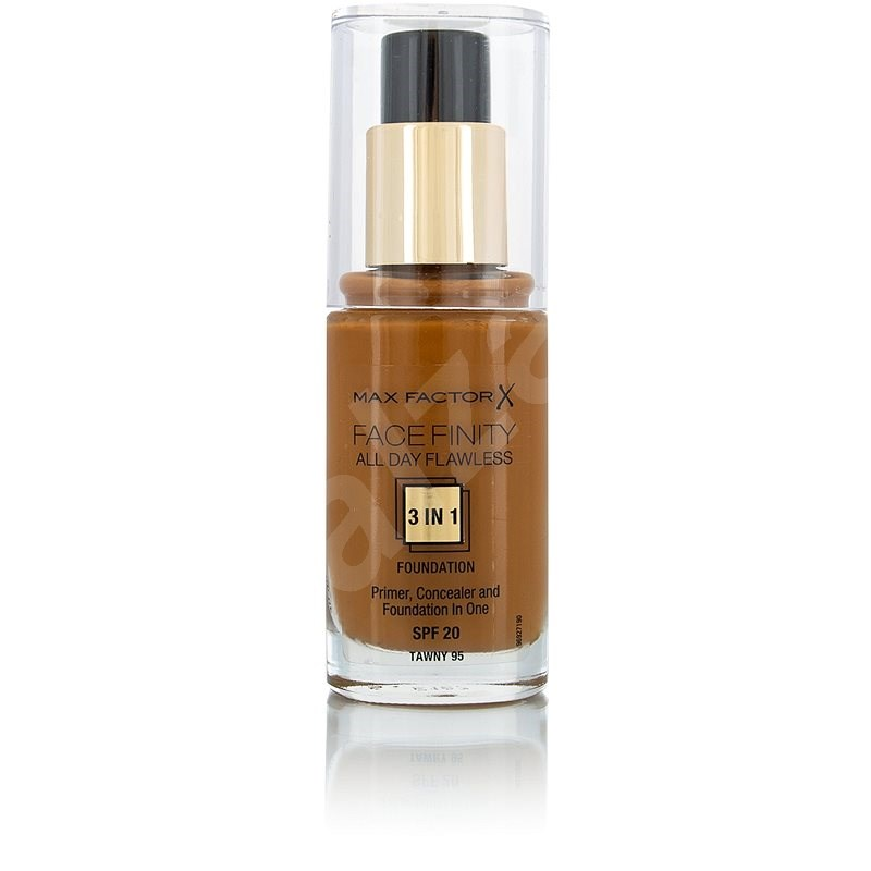 MAX FACTOR Facefinity All Day Flawless 3in1 Foundation SPF20 95 Tawny 30 ml - Make up