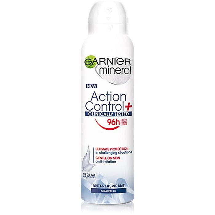GARNIERMineral Action Control+ Clinically tested 150 ml - Dámsky antiperspirant