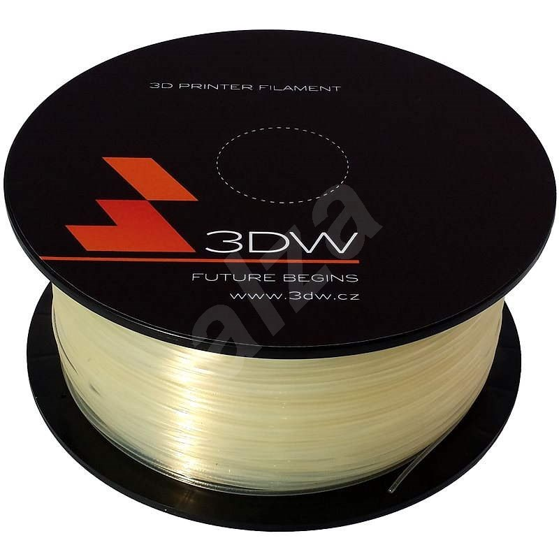 3DW ABS 1,75 mm 1 kg transparentná - Filament