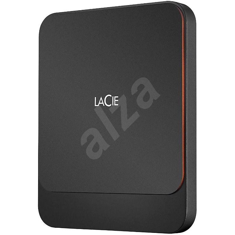 Lacie Portable SSD 1TB, čierny - Externý disk