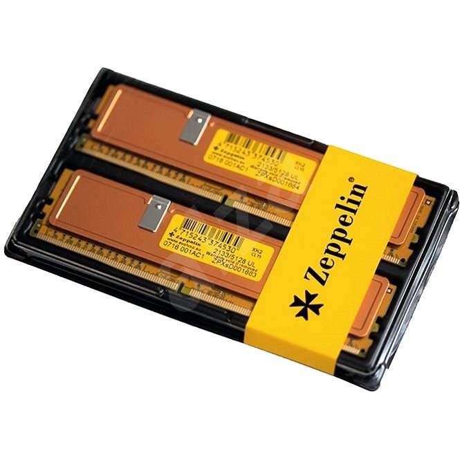 ZEPPELIN KIT 16 GB DDR4 2 133 MHz CL15 GOLD - Operačná pamäť