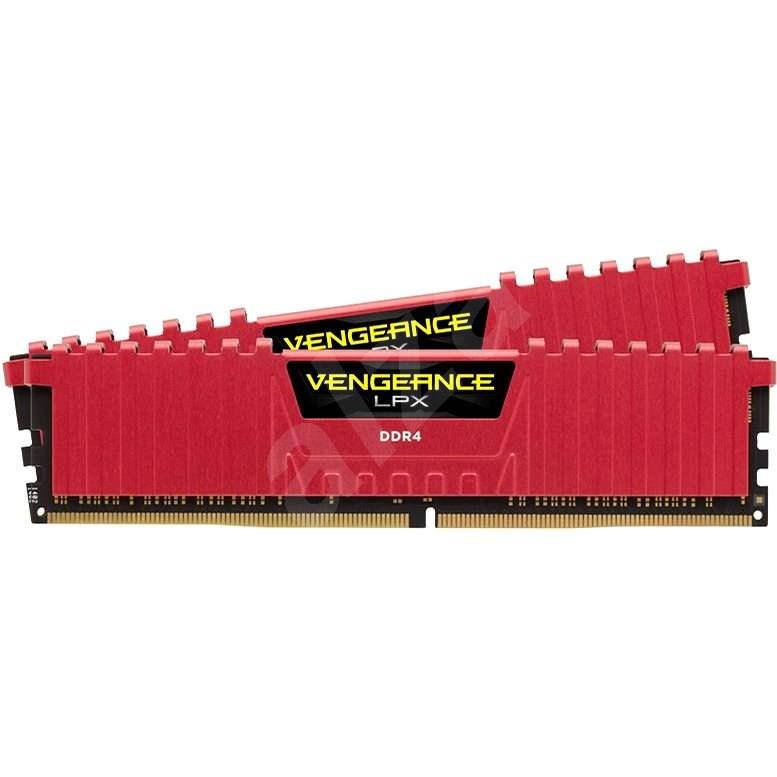 Corsair 16GB KIT DDR4 SDRAM 3600MHz CL18 Vengeance LPX červená - Operačná pamäť