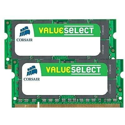 Corsair SO-DIMM, 4 GB KIT DDR2 667 MHz CL5 - Operačná pamäť