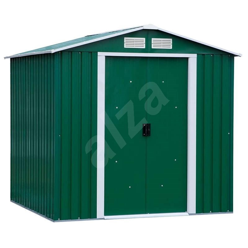 DURAMAX Colossus XL - 321 x 302 cm - zelený - Záhradný domček