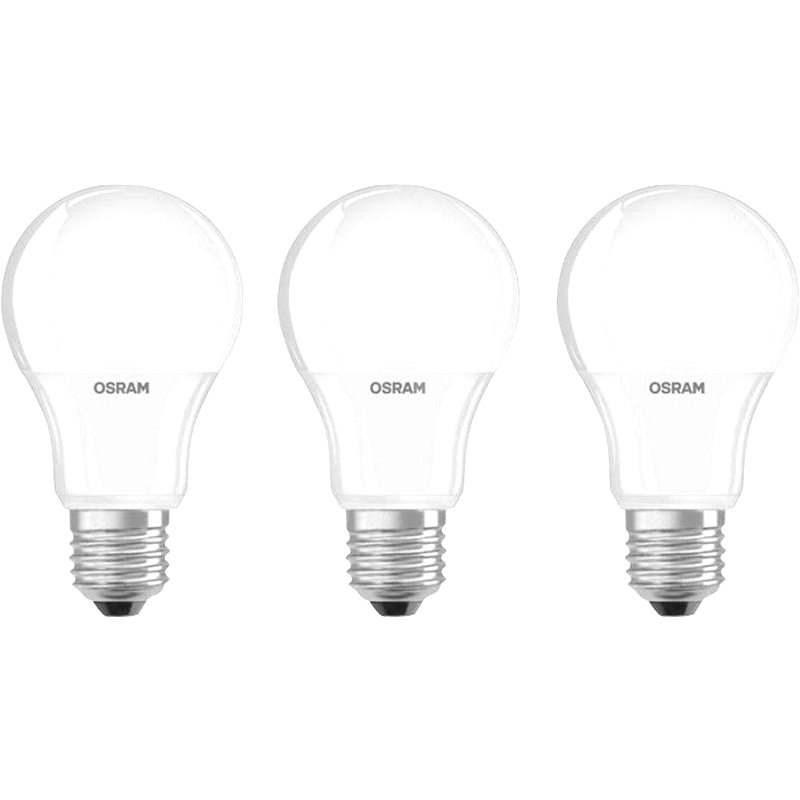 Osram Base 9 W E27 2700K set 3 ks - LED žiarovka