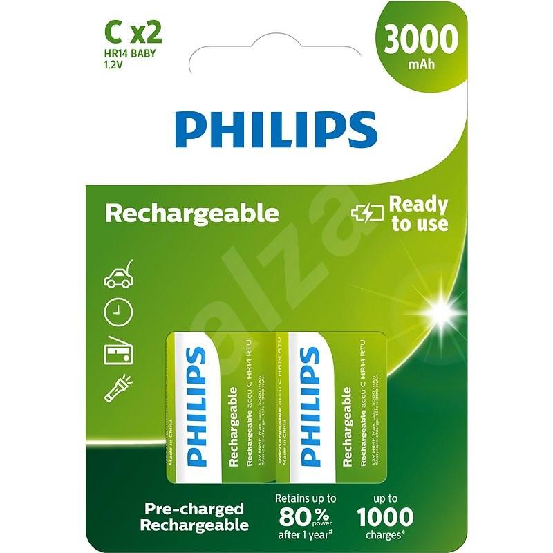Philips R14B2A300 2 ks v balení - Nabíjateľná batéria