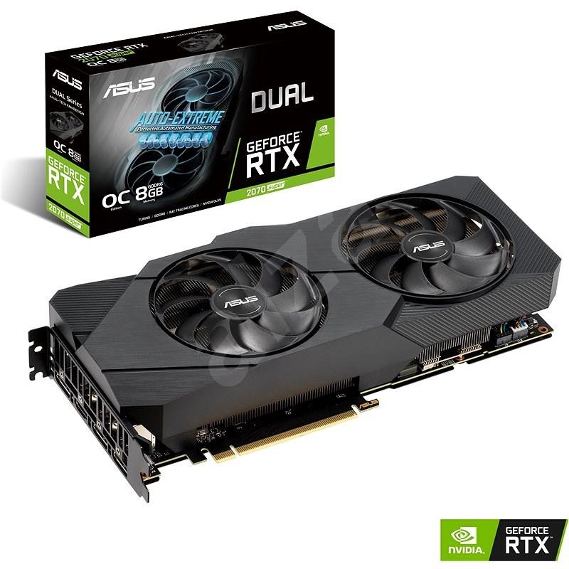 ASUS DUAL GeForce RTX 2070 SUPER O8G EVO - Grafická karta