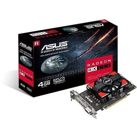 ASUS RX550 4GB - Grafická karta