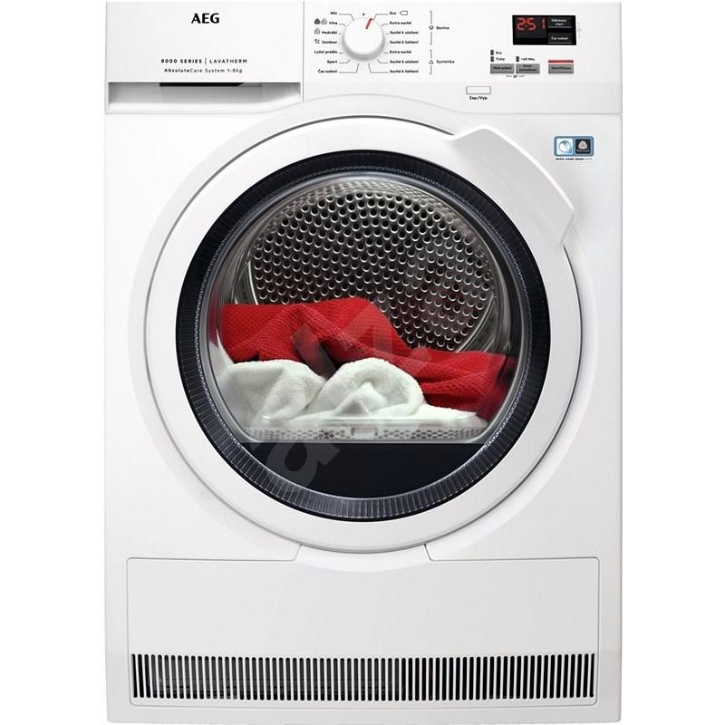 AEG AbsoluteCare® T8DBK68WC - Sušička prádla