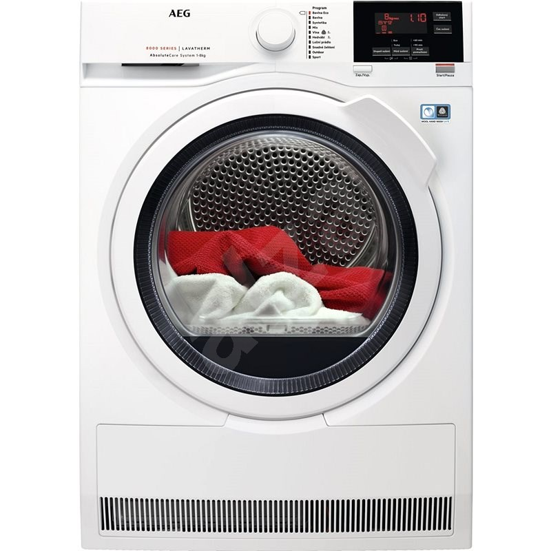 AEG AbsoluteCare® T8DBG68WC - Sušička prádla