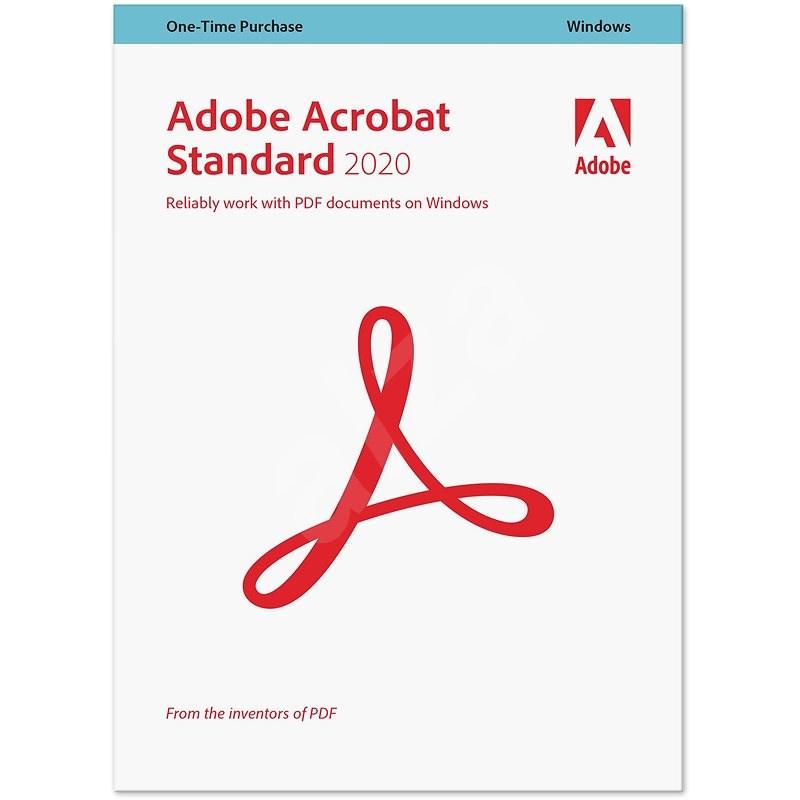 Acrobat Standard 2020 CZ Upgrade (elektornická licencia) - Kancelársky softvér