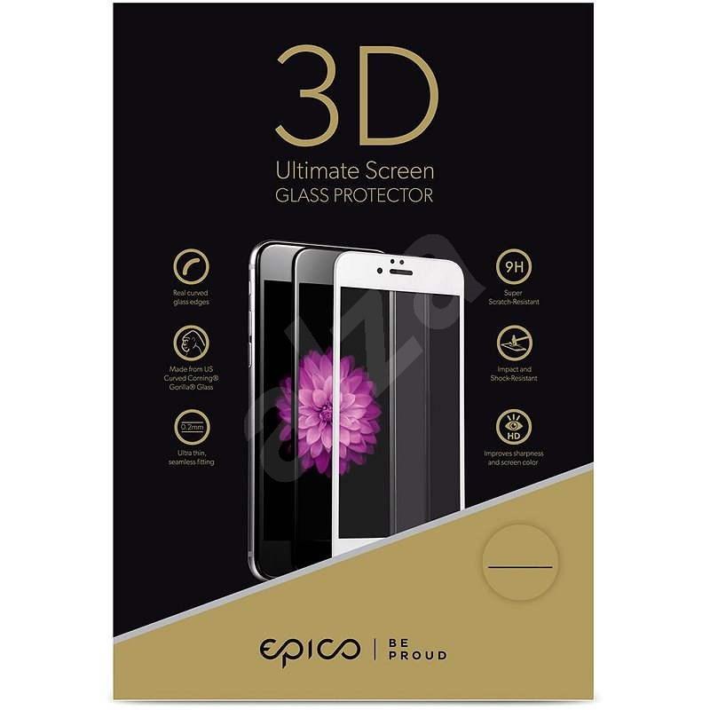 Epico Glass 3D na Apple iPhone 6 a iPhone 6S biele - Ochranné sklo