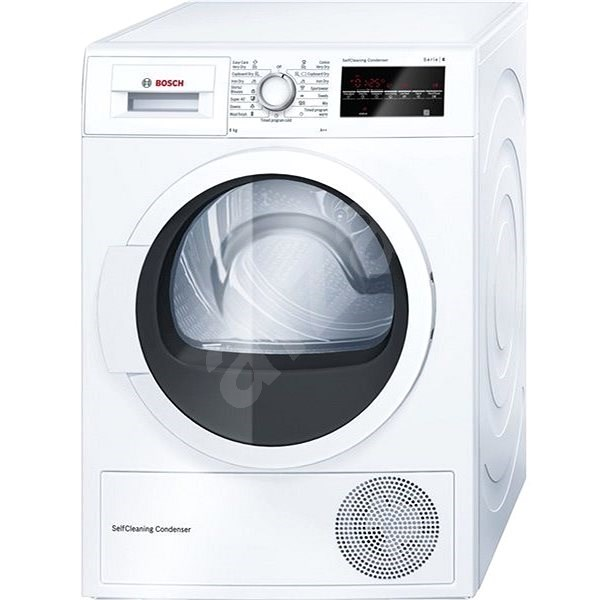 BOSCH WTW87467CS - Sušička prádla