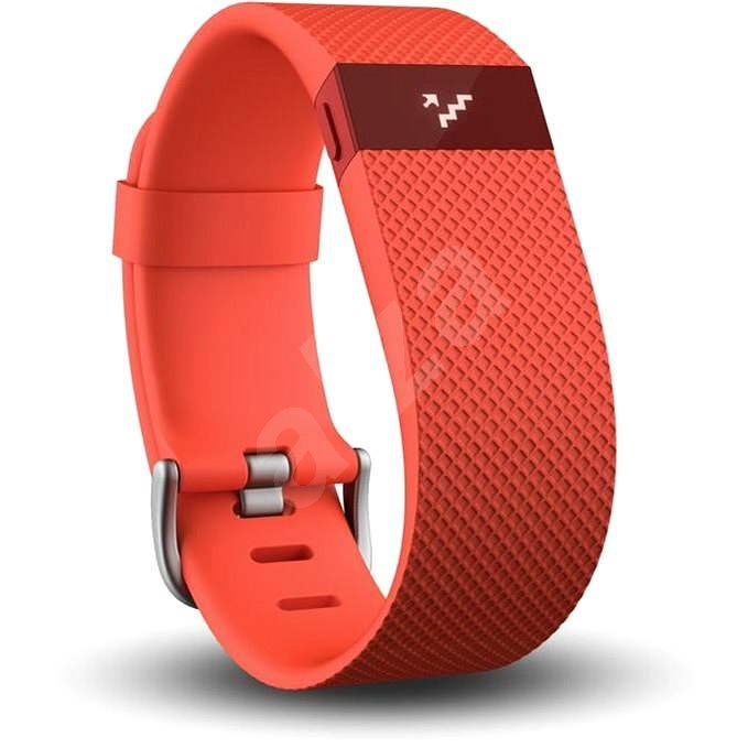 Fitbit Charge HR Small Tangerine - Fitness náramok