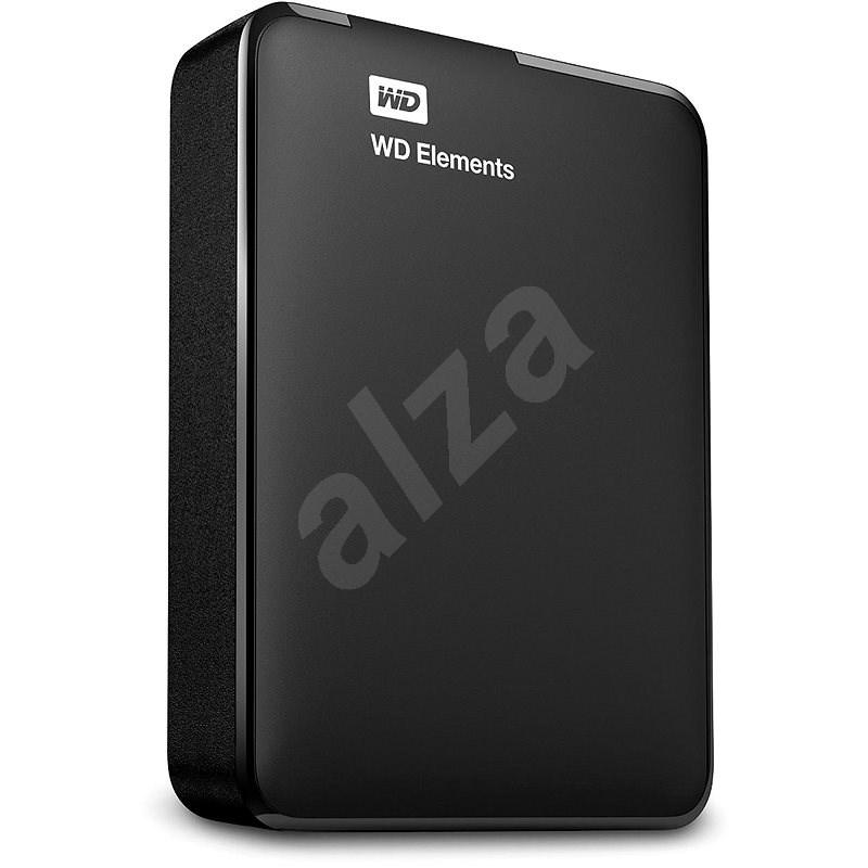 """WD 2.5"""" Elements Portable 4TB čierny - Externý disk"""