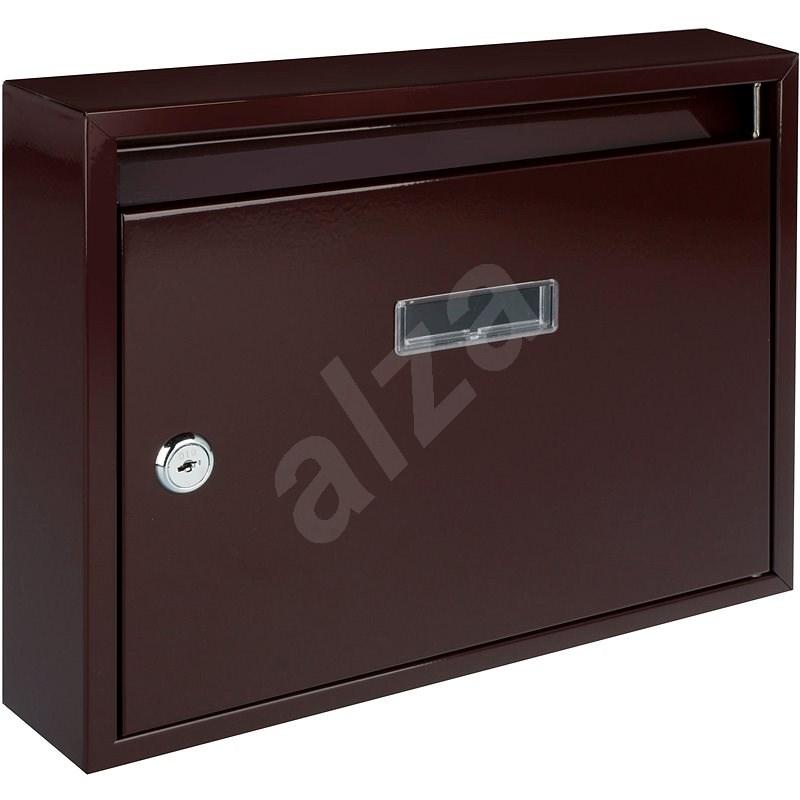 G21 Poštová schránka paneláková 320×240×60 mm hnedá bez dier - Poštová schránka