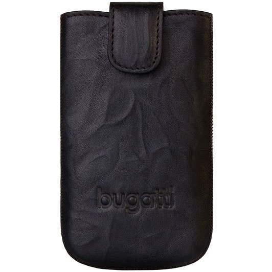 Bugatti Slim Case Leather Unique 2011 L černé - Puzdro na mobil