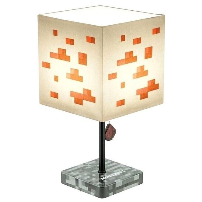 Minecraft – stolová lampa - Stolová lampa