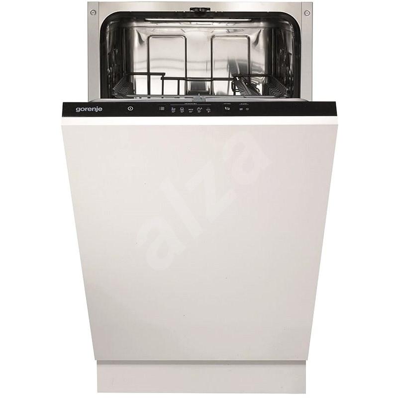 GORENJE GV52010 - Vstavaná umývačka riadu úzka