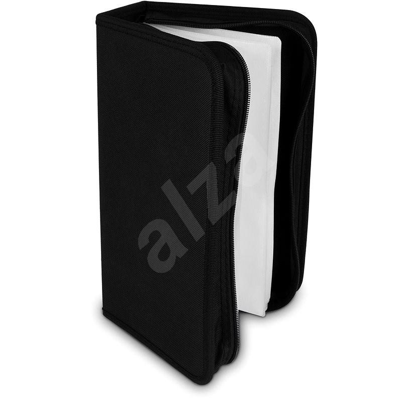 COVER IT na 128 ks - NYLÓN - čierne - Puzdro na CD/DVD