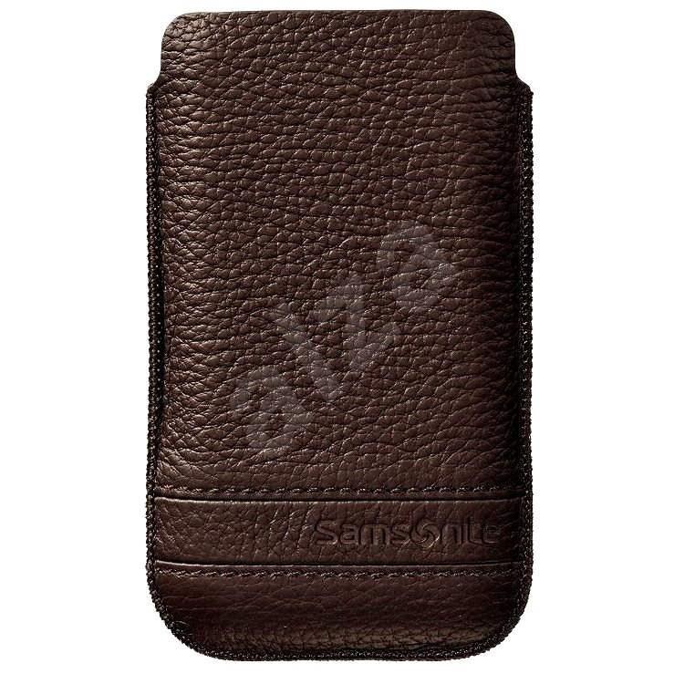 Samsonite Slim Classic Leather M hnedé - Puzdro na mobil