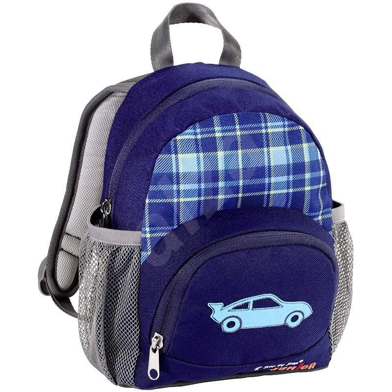 Step by Step Modré autíčko - Detský ruksak