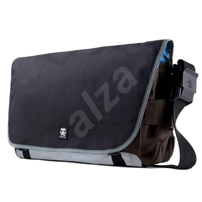 Crumpler Dinky Di Laptop Messenger L – dull black/espresso - Taška na notebook