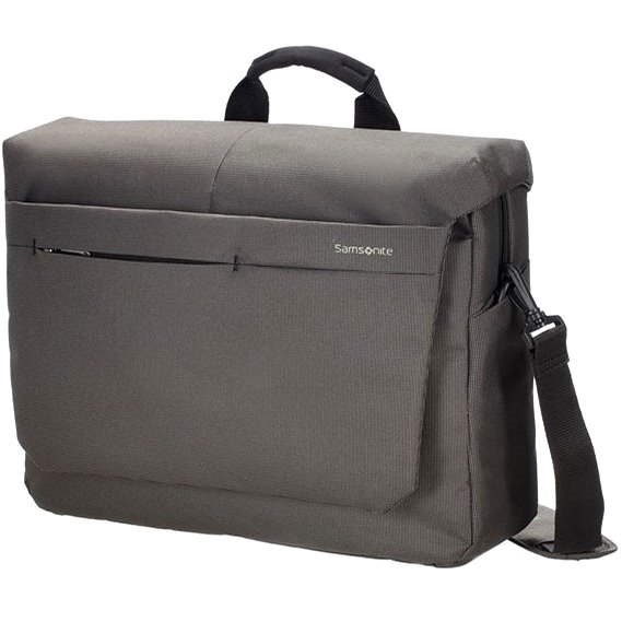 "Samsonite Network 2 Laptop Messenger 16"" šedá - Taška na notebook"