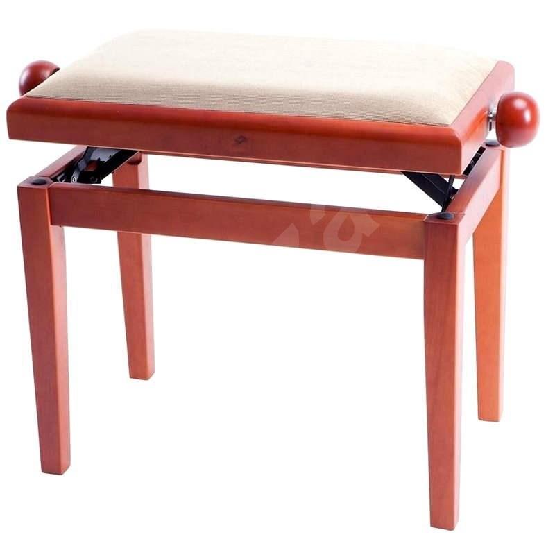 Stolička klavírový GEWA čerešňa mat / béžový velúr - Príslušenstvo