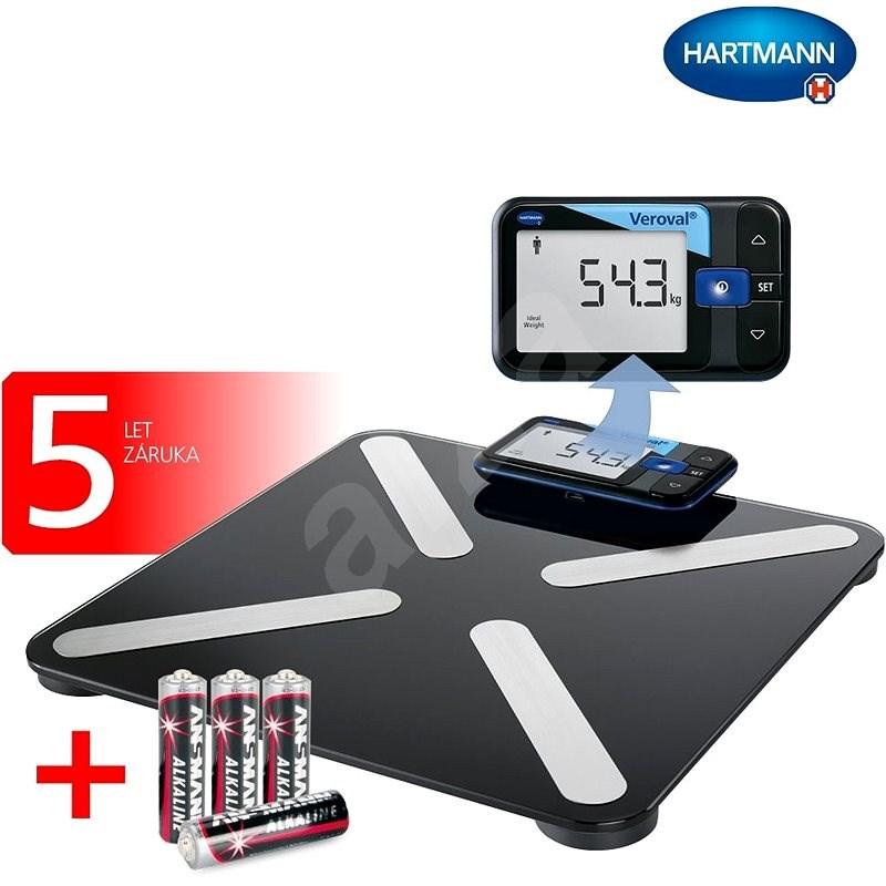 Hartmann Veroval® Inteligentná osobná váha - Osobná váha