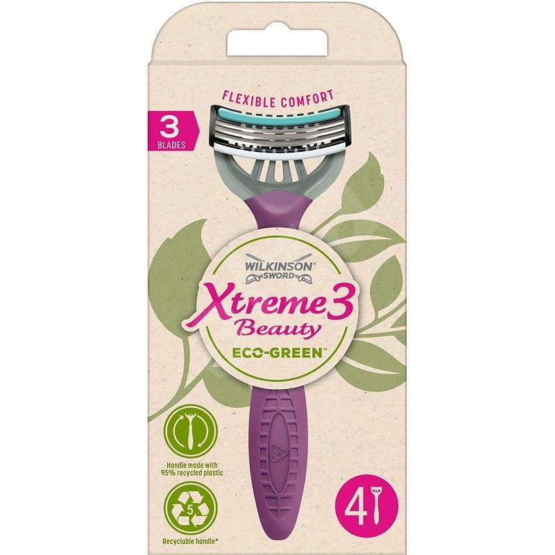 WILKINSON Xtreme3 Beauty ECO Green 4 pcs - Razors for Women
