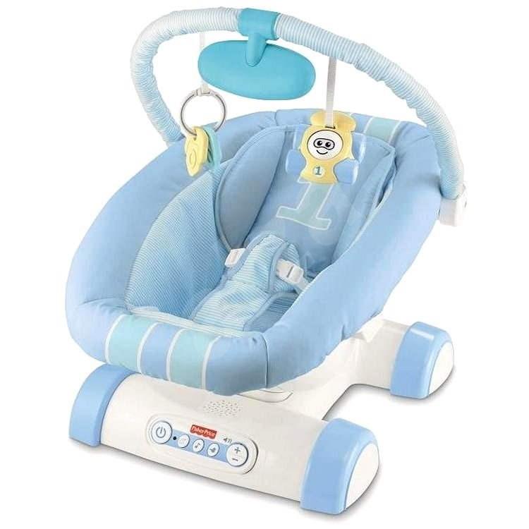 Fisher Price Sedadlo s upokojujúcimi pohybmi - Detské sedadlo