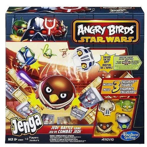 Angry Birds - Jenga Jedi - Spoločenská hra
