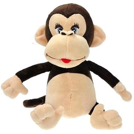 Opice Pepina - hovoriaci - Plyšová hračka