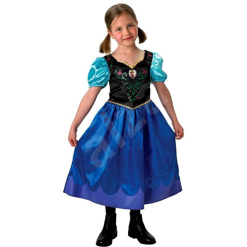 Šaty na karneval Ľadové kráľovstvo – Anna Classic veľ. 9 – 10 - Detský kostým