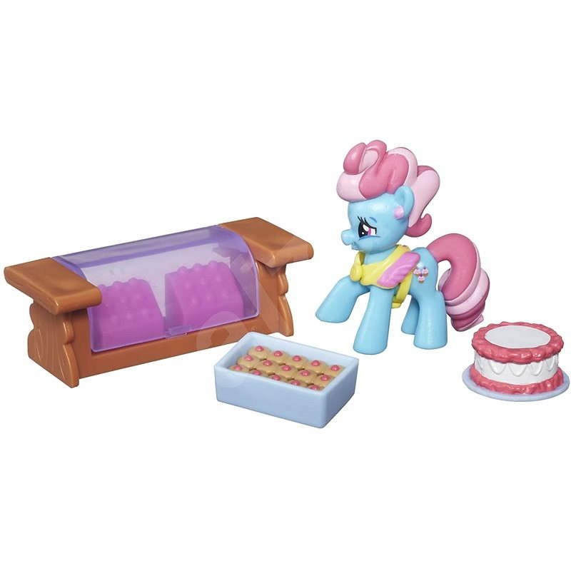 My Little Pony - Fim sběratelský set Mrs. Dazzle Cake - Figúrka