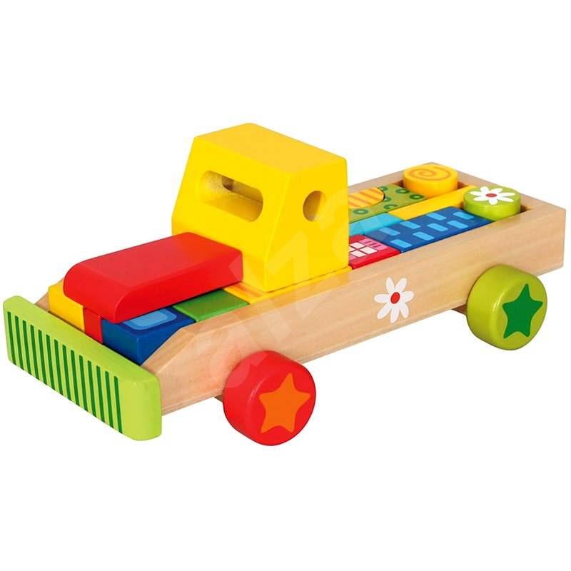 Auto s tvarmi - Didaktická hračka