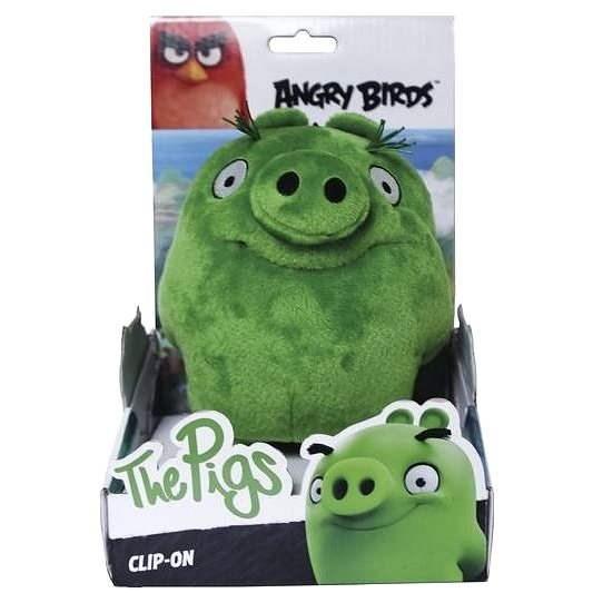 Angry Birds s príveskom - The Pigs - Plyšová figúrka