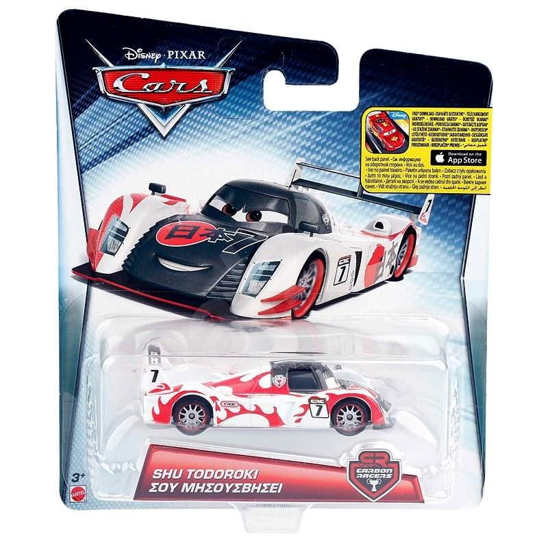 Mattel Cars 2 - Carbon race malé auto Shu Tudoroki - Auto