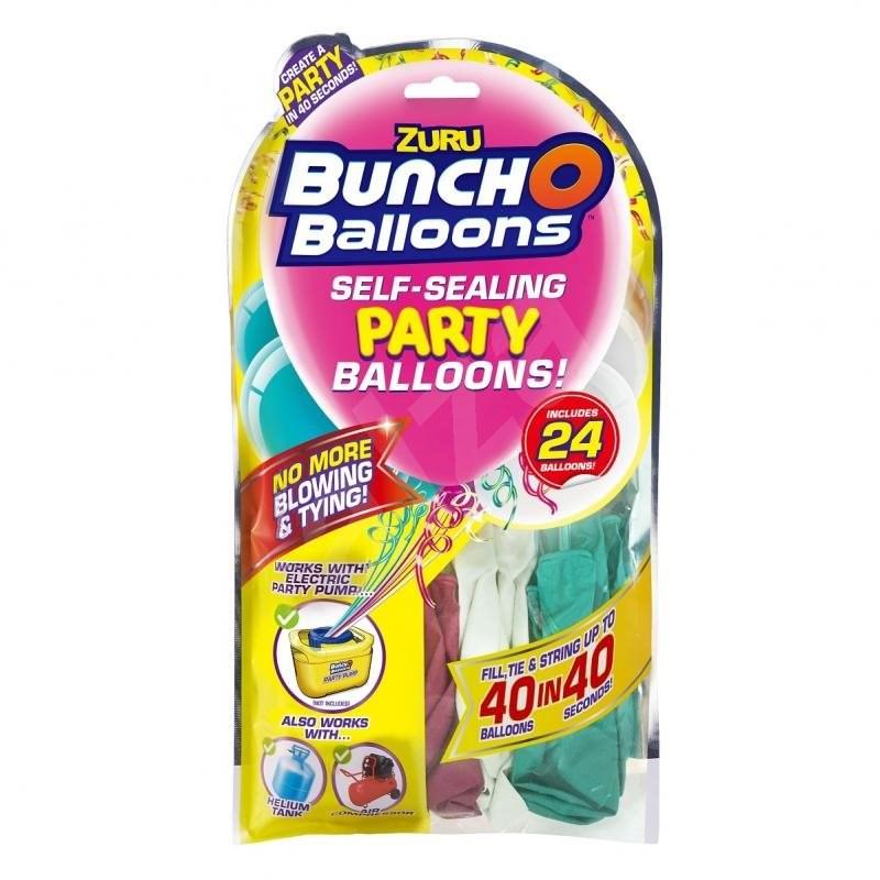 Zuru – párty balóniky (ružová, tyrkysová, biela) - Párty doplnky