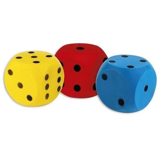 Androni Kocka mäkká – veľkosť 16 cm, žltá - Lopta pre deti