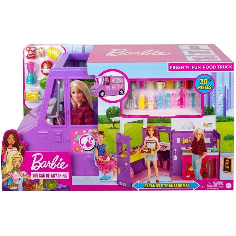 Barbie pojazdná reštaurácia - Herná sada