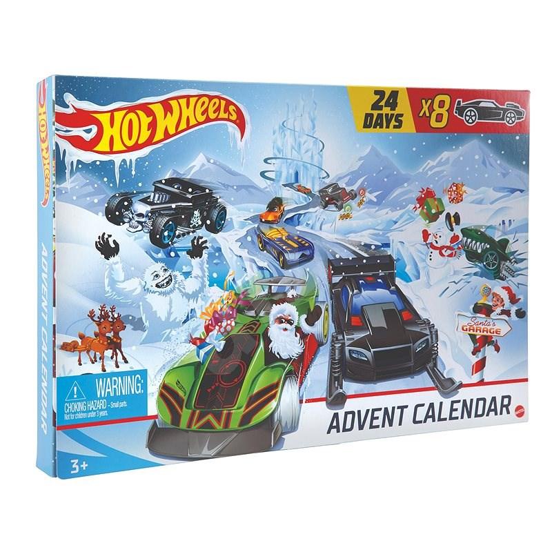 Hot Wheels Adventný kalendár - Auto