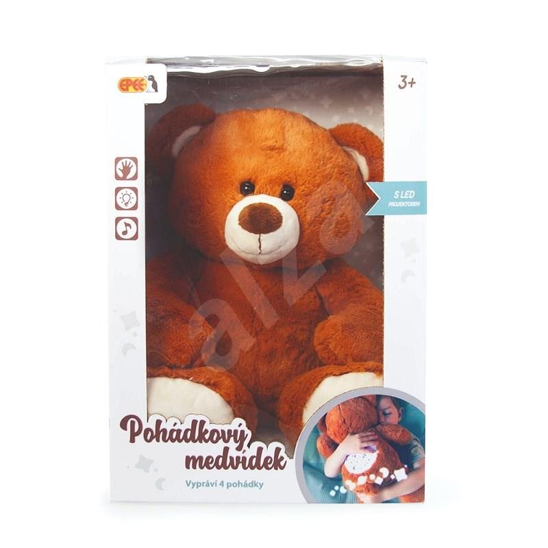 Rozprávkový medvedík 30 cm CZ - Plyšová hračka