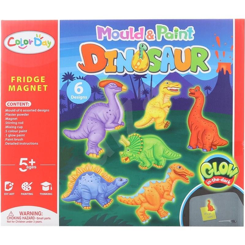 Výroba magnetov – dinosaury svietiace - Vyrábanie pre deti