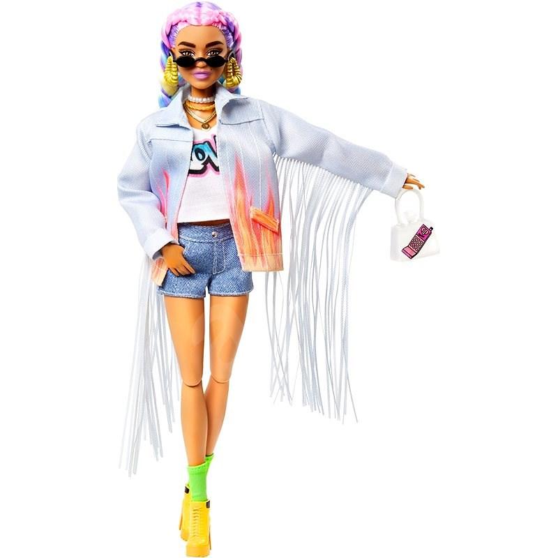 Barbie Extra – V džínsovej bunde so strapcami - Bábiky