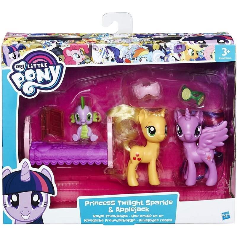 My Little Pony Sada 2 pony s Twilight Sparkl a Applejack - Herná sada